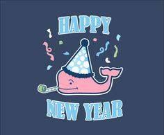 Vineyard Vines Happy New Year Whale