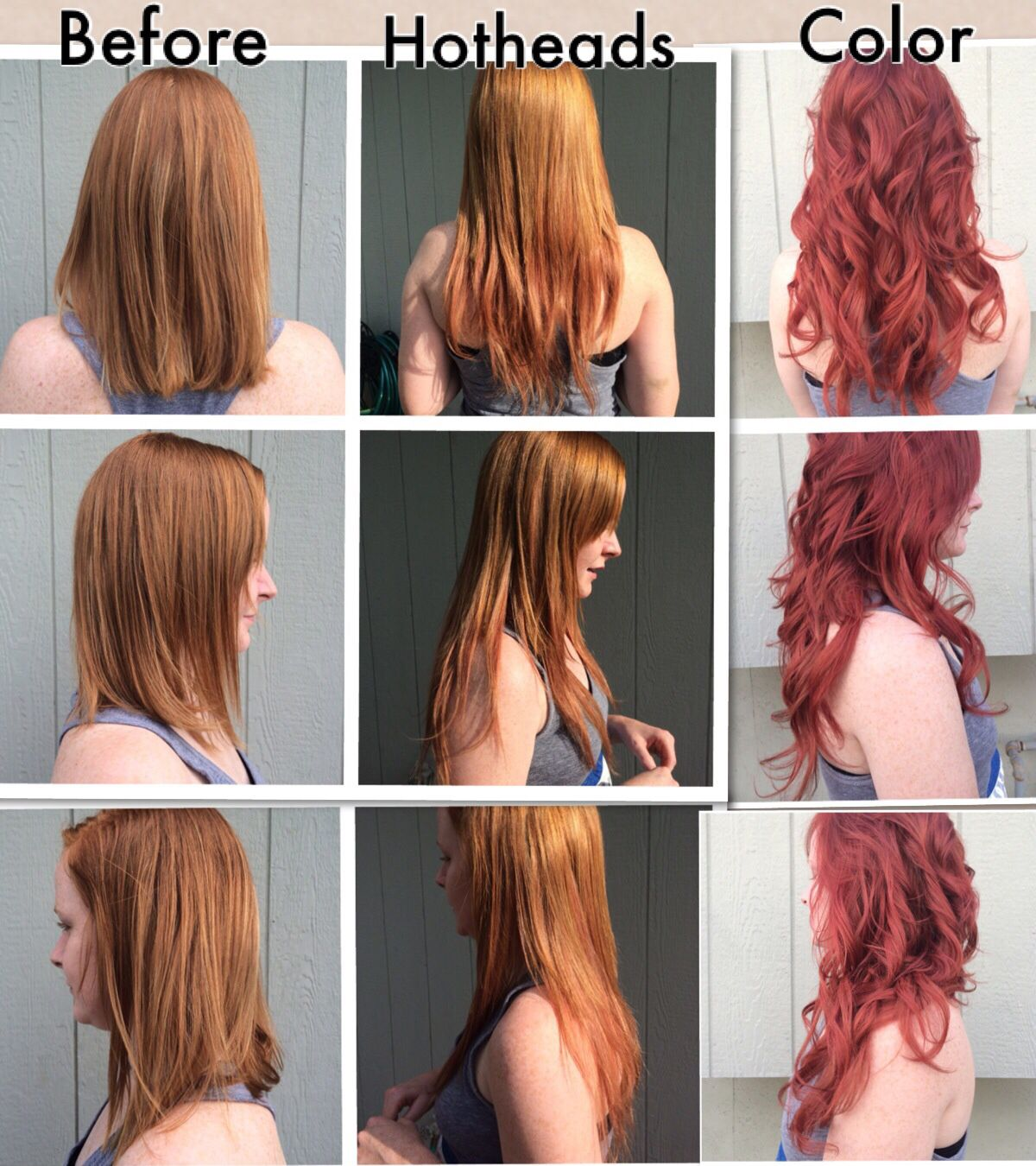 Hotheads Hair Extensions And Schwarzkopf Color Hair Nails Makeup