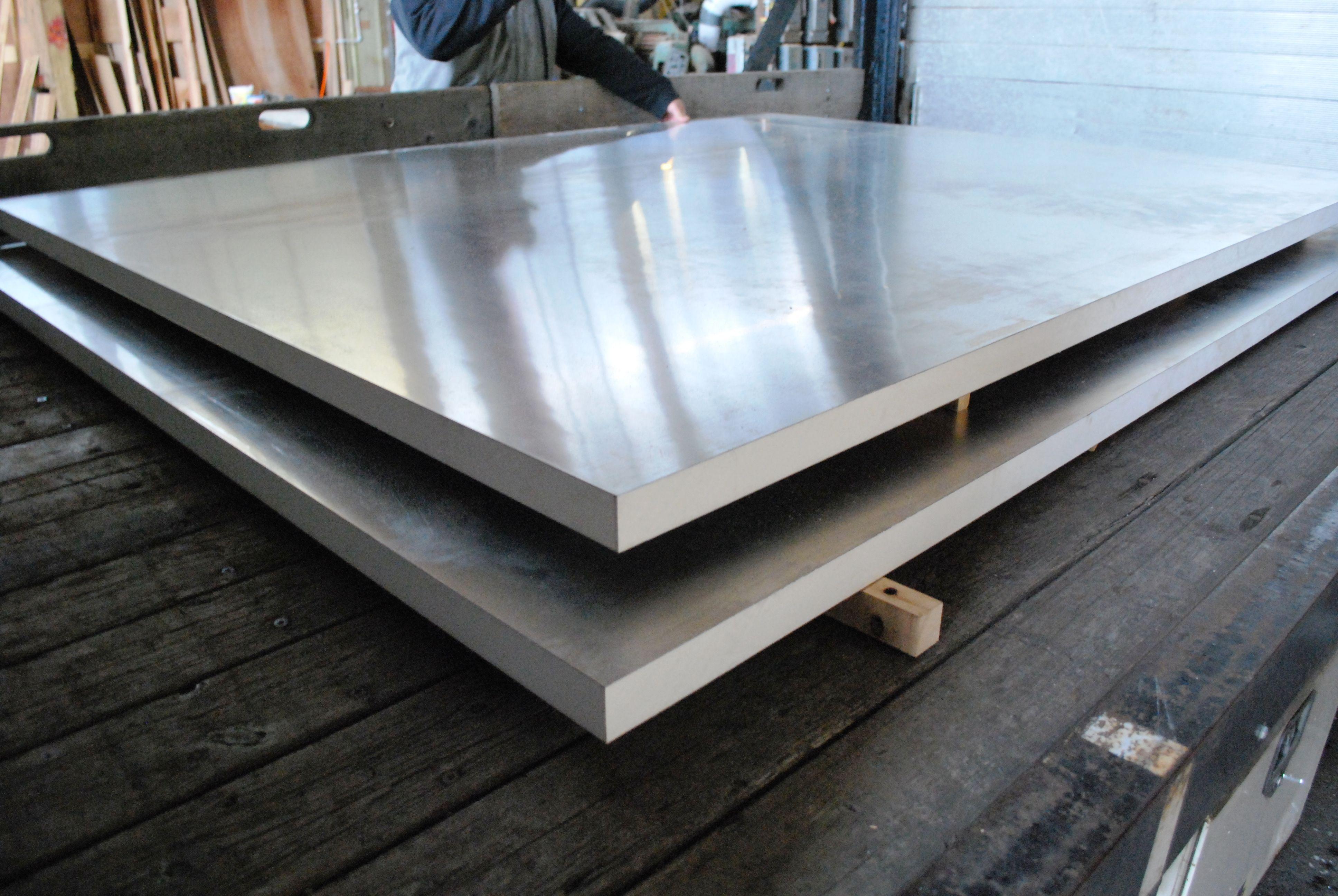 Sing Core Aluminum Honeycomb Panels Van Pivot Doors