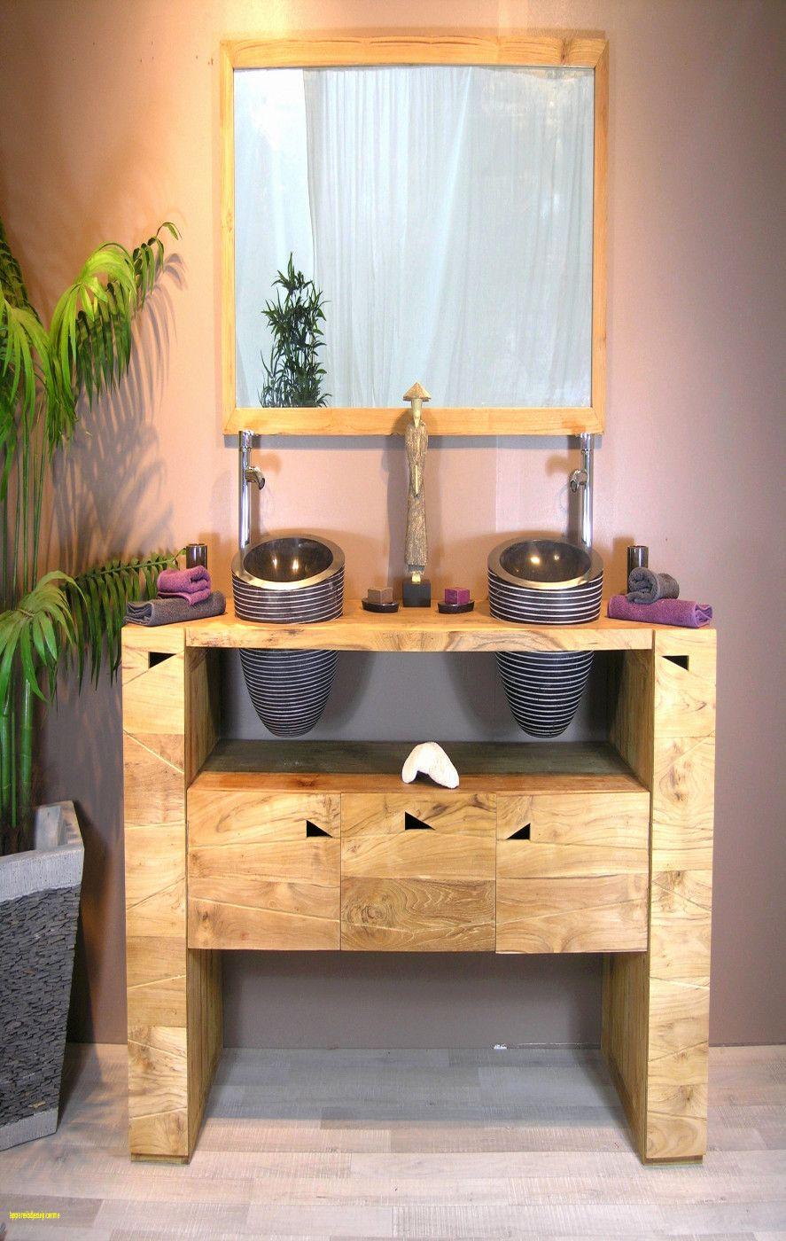 Meuble Tv Teck Soldes Meuble Salle De Bain Meuble Double Vasque Bois Meuble Double Vasque