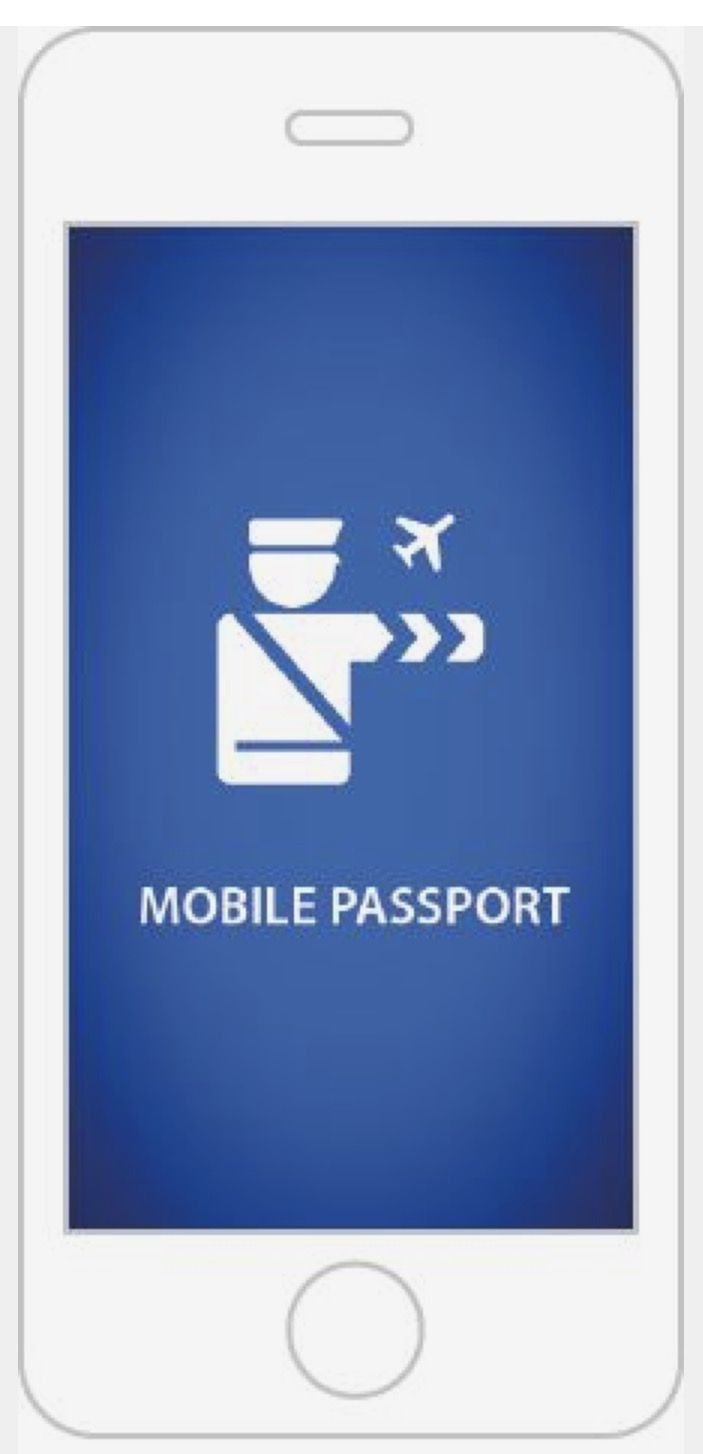 Mobile Passport App Passport information, App