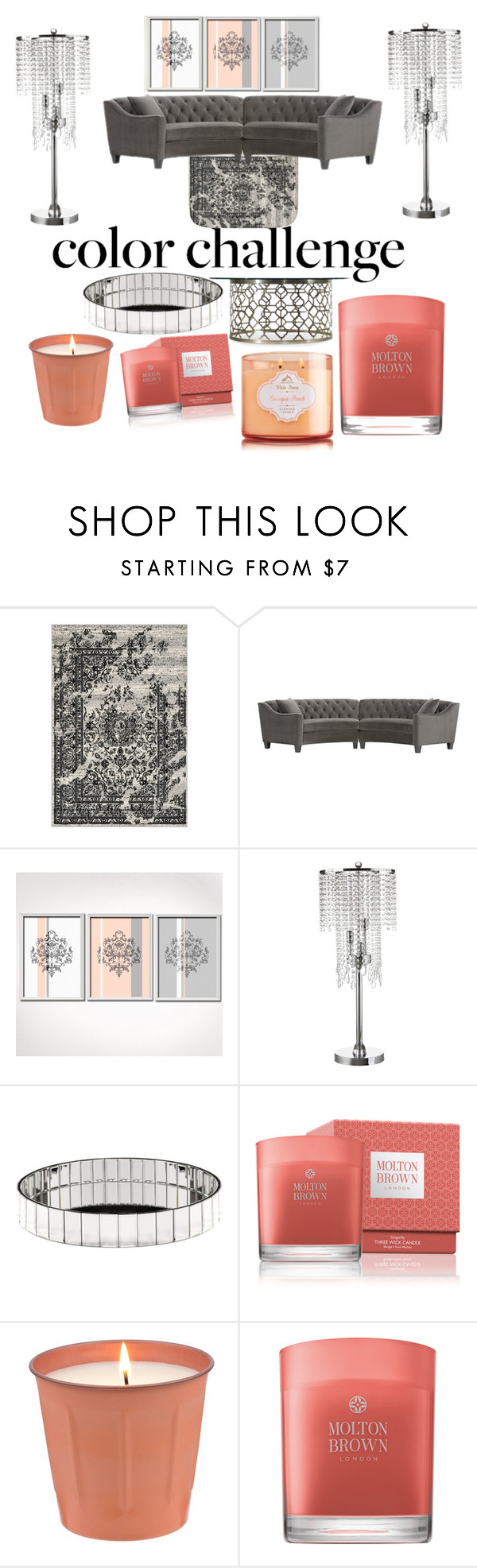 """""""Untitled #61"""" by mranicayla on Polyvore featuring interior, interiors, interior design, home, home decor, interior decorating, Home Decorators Collection, WALL, Inspire Q and Hooker Furniture"""