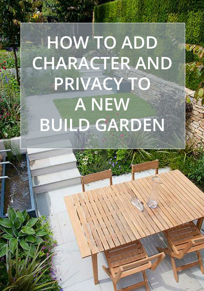 How to add character to a new build garden | How to add privacy to a ...