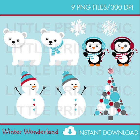 winter wonderland clipart snowman clipart penguin. Black Bedroom Furniture Sets. Home Design Ideas