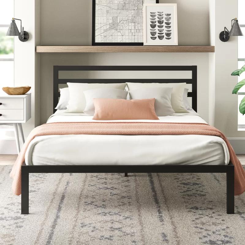 Hanley Platform Bed in 2020 Adjustable beds, Furniture