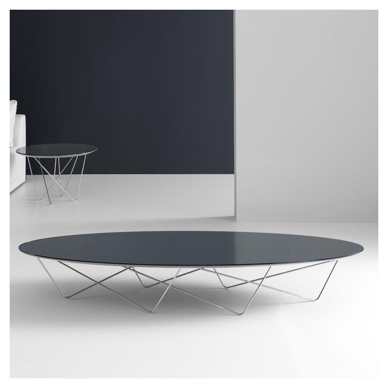 Pour votre salon contemporain quelle table basse design yohsi kendo ronde ovale
