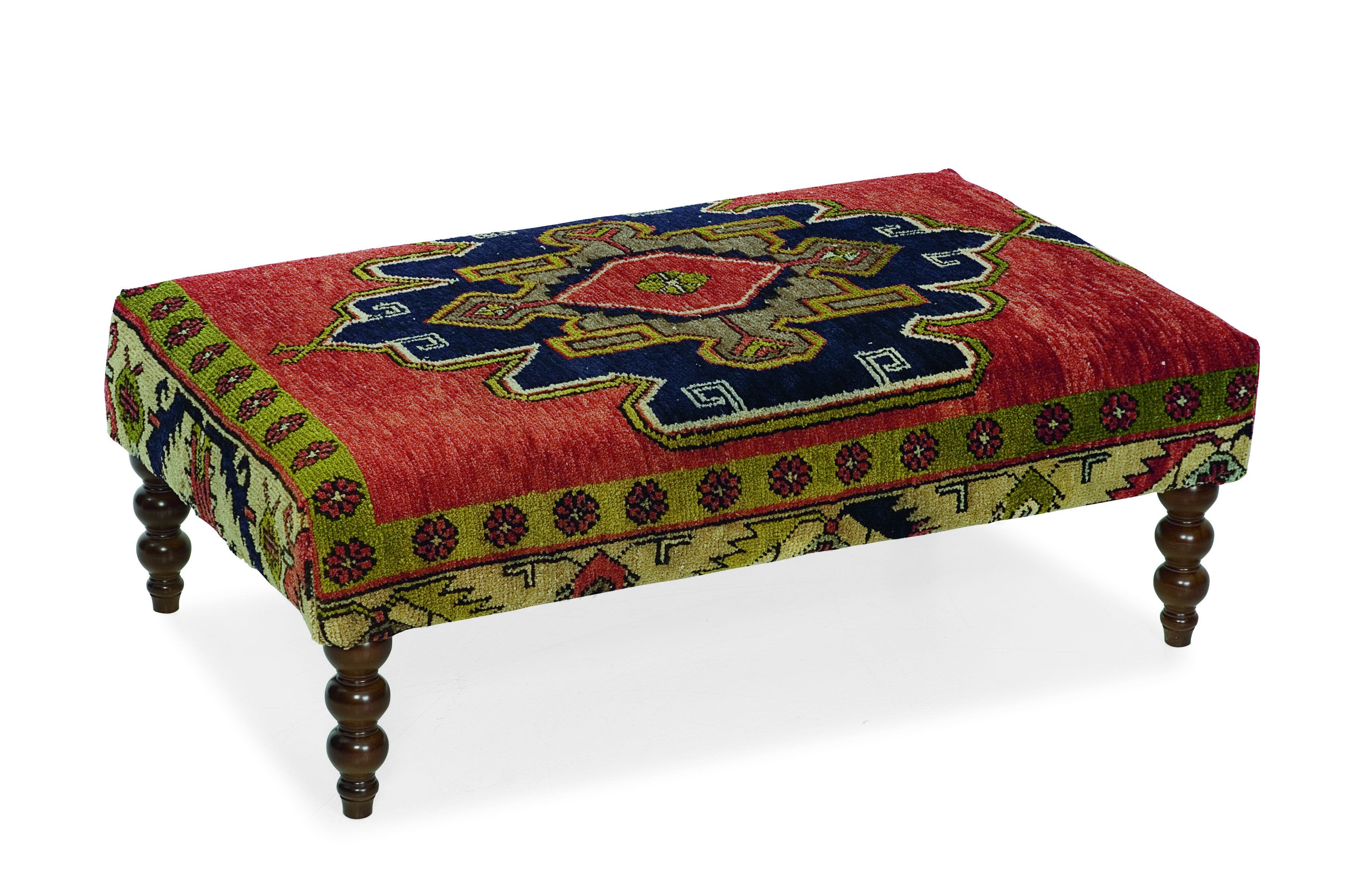 Ottoman Kilim Bench