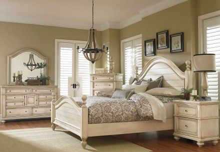 Chateau Antique French Bisque Poster Bedroom Set in 2018 Bedroom - Poster Bedroom Sets