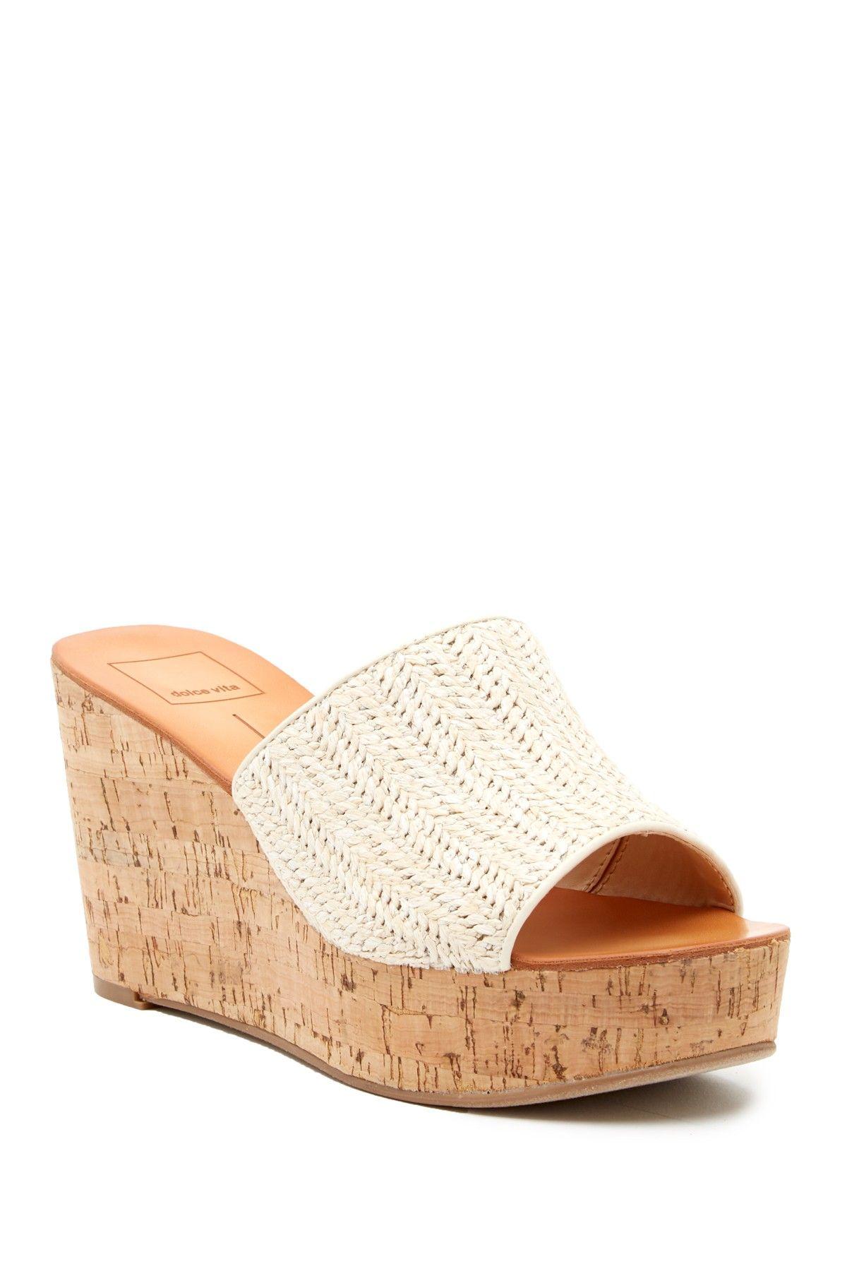 c00555be199 Dolce Vita Barkley Cork Wedge Sandal | Products | Wedge sandals ...