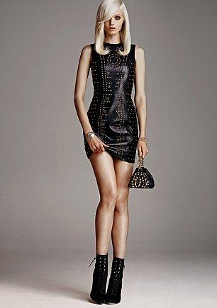 Versace black mini dress | My best dresses | Pinterest | Topshop ...