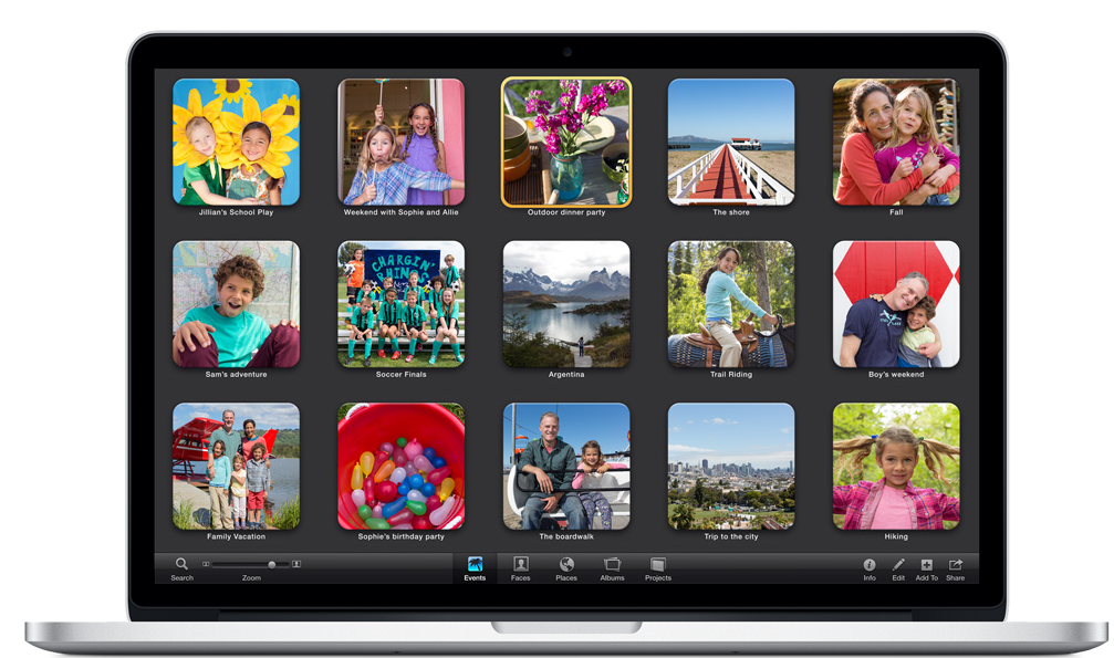 Apple (India) - iPhoto for Mac | hanging pots | Apps for mac