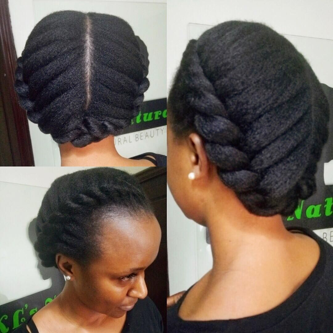 Healthy Hair From Root To Tip Styled Into This Simple Style Of 2 Flat Twists For My Client Tur Natural Hair Styles Natural Hair Bloggers Natural Hair Community