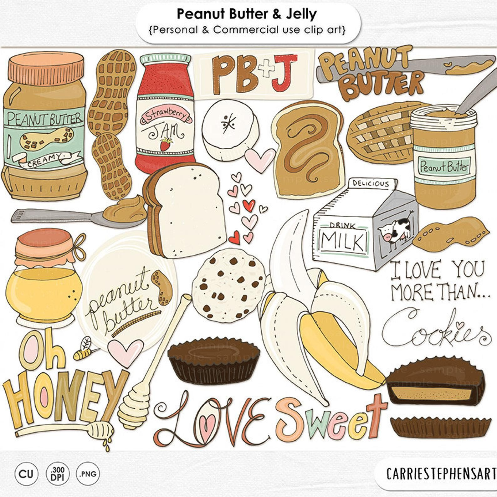 38++ Peanut butter jelly clipart information
