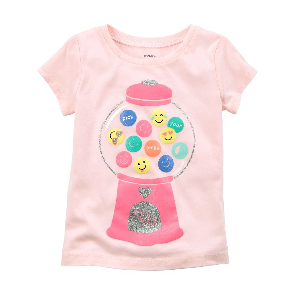 a6f05f52 Baby Girl Carter's Gumball Machine Emoji Tee in 2019 | Products ...