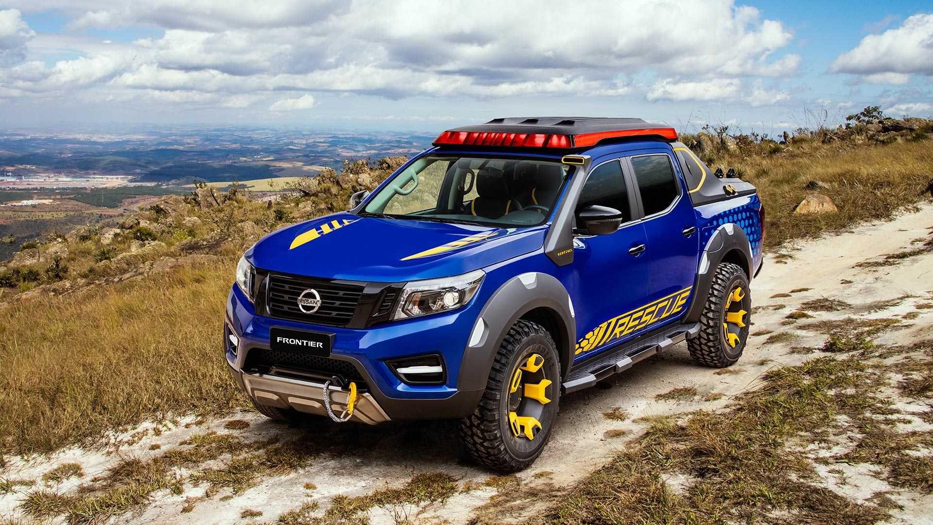 Nissan Navara Sentinel Concept Trucks Conceptcars 4wd Offroad
