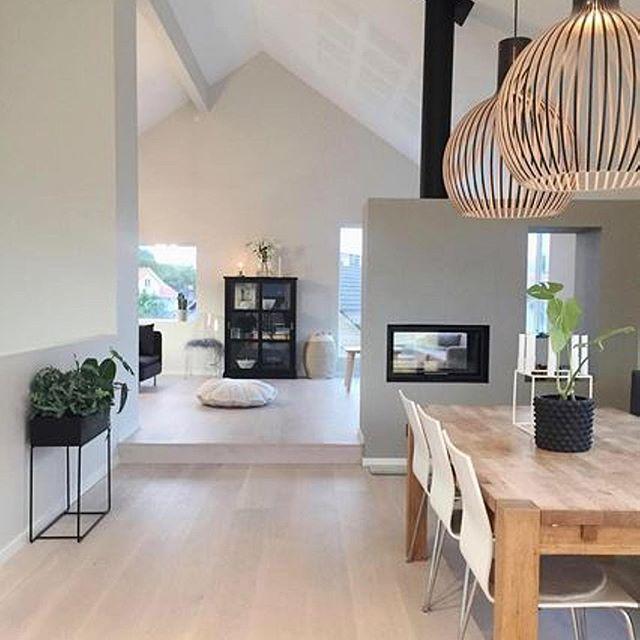 Ein Beispiel für modernes Wohnen von @villariarveien Mehr - wohnzimmer esszimmer einrichten