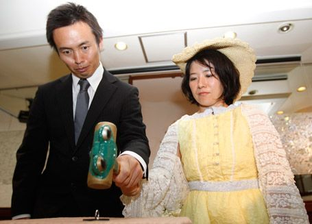 Japanese divorce ceremony; separation from a new viewpoint..