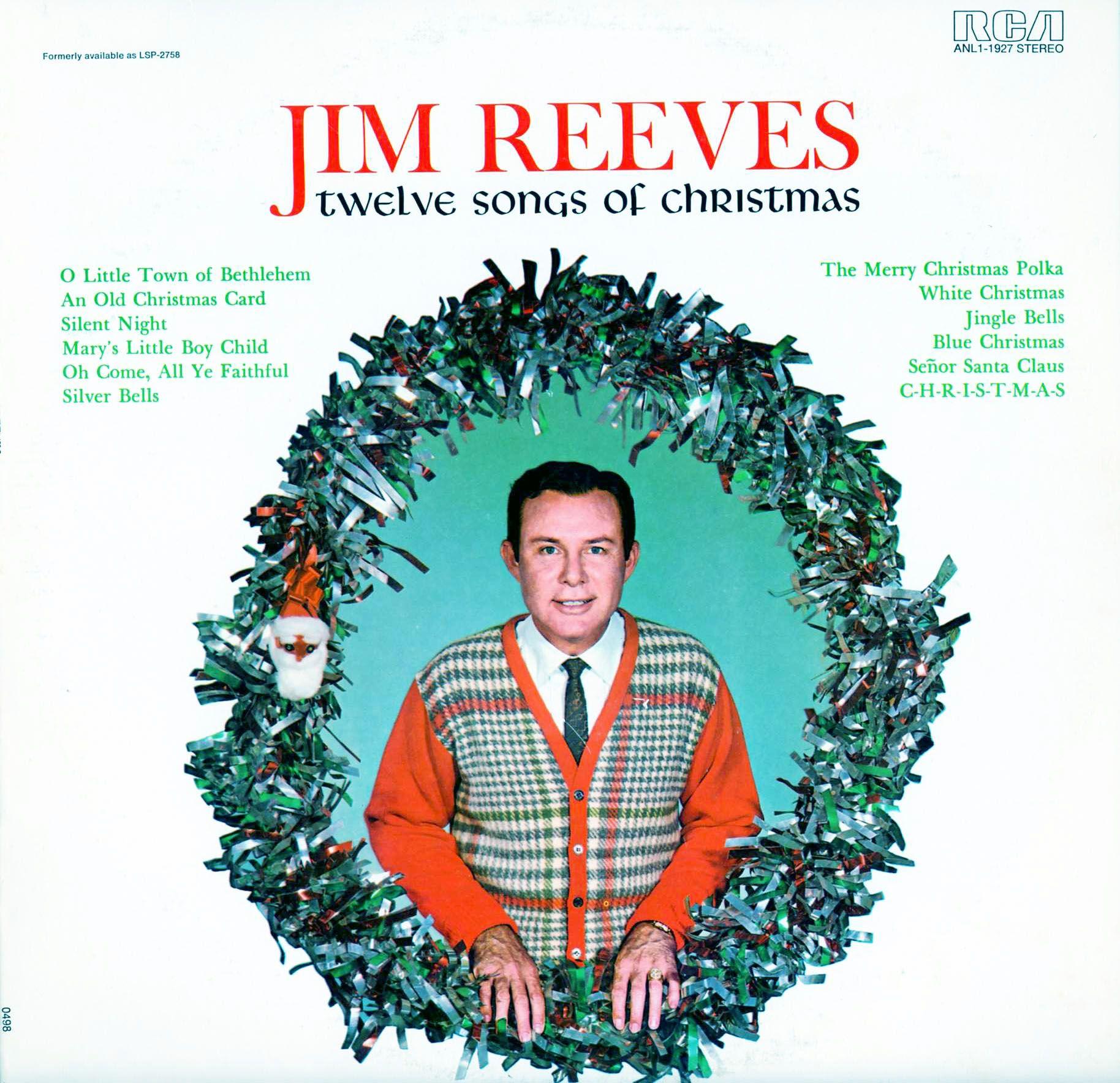 Mp3 Download 320kbps Reeves Jim Twelve Songs Of Christmas With
