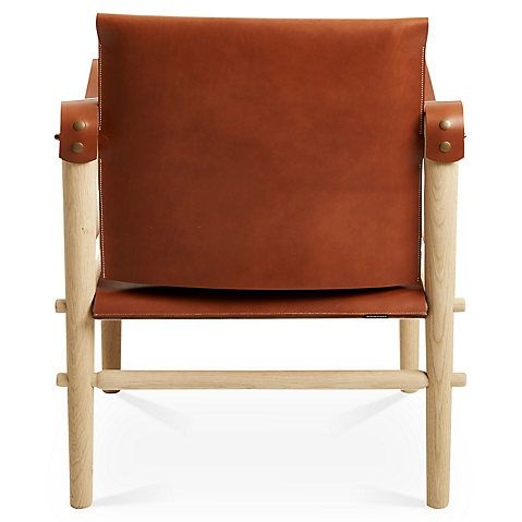 Toulouse Accent Chair - Whiskey Leather - Temps Libre | Toulouse ...