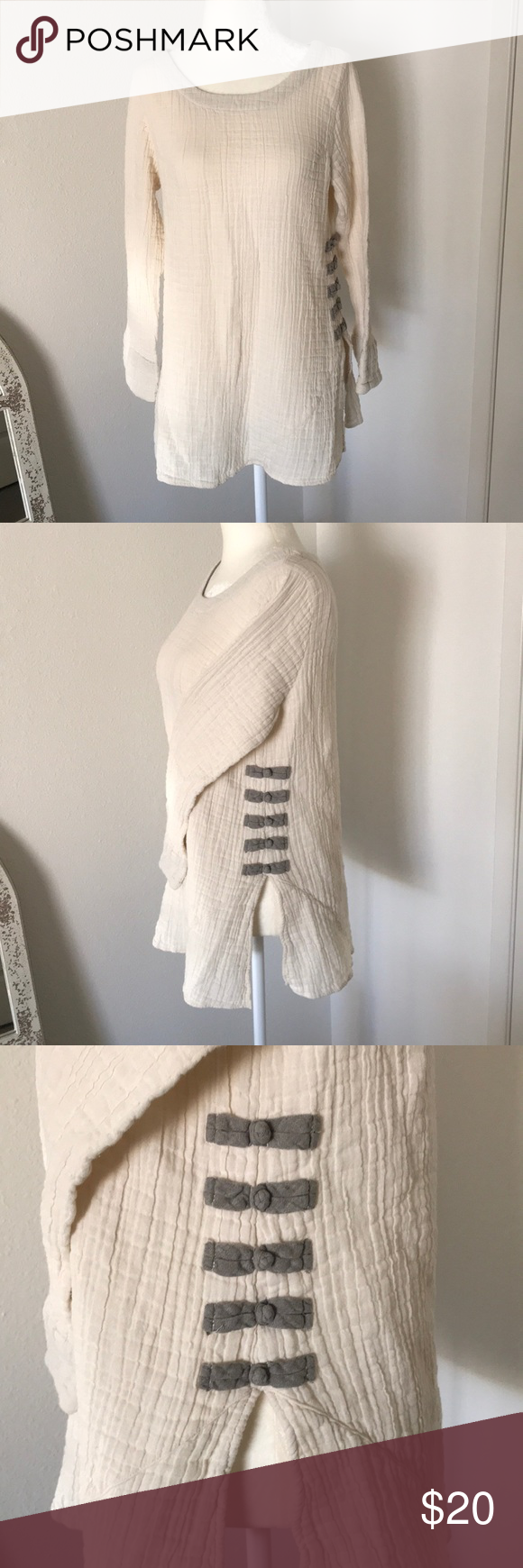 Kleen Cream Cotton Sweater Bell Sleeves In 2018 My Posh Picks