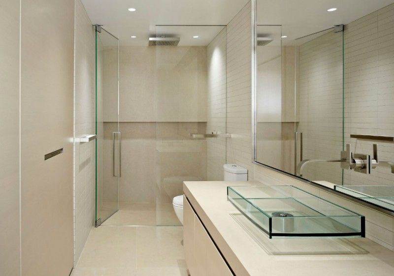 21 barrier free curbless shower ideas small bathroom on stylish and elegant modern glass wall interior design ideas get the financial benefits id=75771