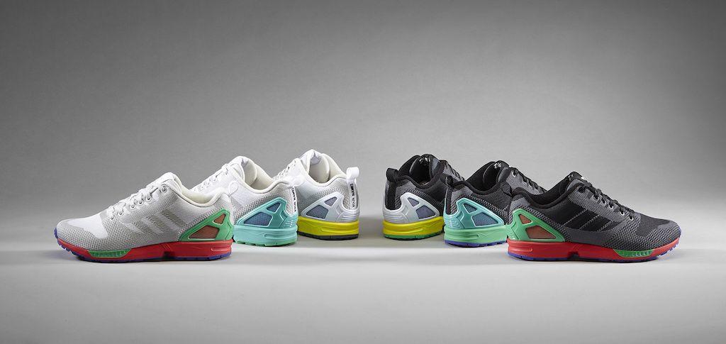 adidas originals mi zx flux weave - pride of the 000s series