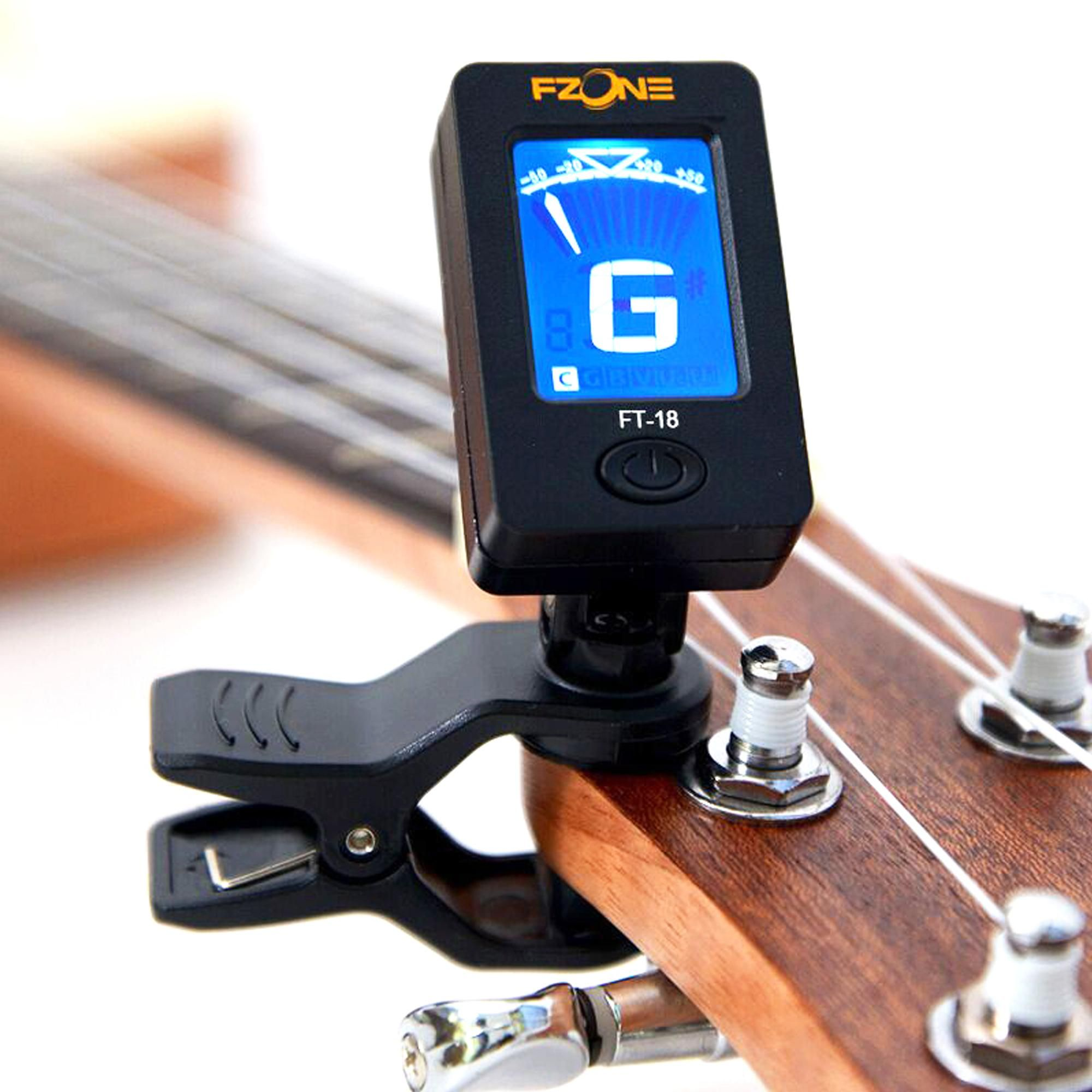 Consumer Electronics Hot Selling 360 Mini Lcd Clip Tuner Chromatic Clip-on Digital Tuner For Acoustic Electric Guitar Bass Violin Ukulele Chargers