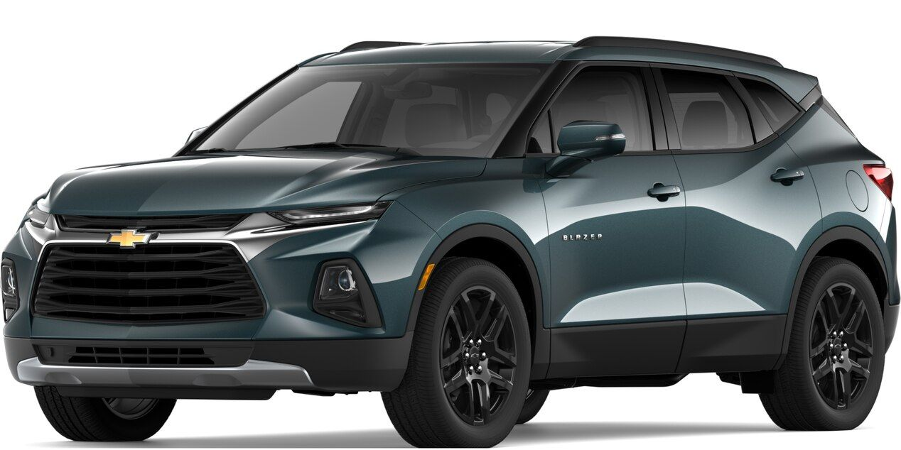 2019 All New Blazer Sporty Suv Rs Front View Mid Size Suv