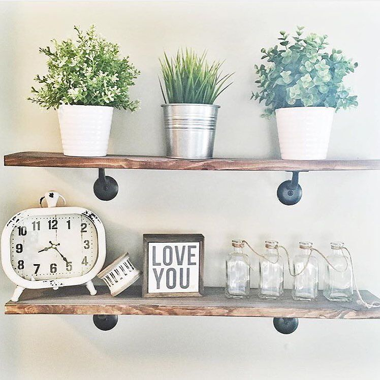 My cute friend @_simplyshanna tagged me to play along with #moveitupmonday hosted by @smalltowngirllife and #designmedley hosted by @styleitprettyhome. My entryway shelves are one of my favorite things in my home! They're just so cheerful!! Oh and ikea plants are my jam!! Would my cute friends @beccalevie and @itsybitsypaper like to play along? . #farmhousebed #farmhousedecor #farmhousestyle #farmhousechic #rusticdecor #rusticstyle #mycountrystyle #mycountryhome #homedecor #woodecor #antique…
