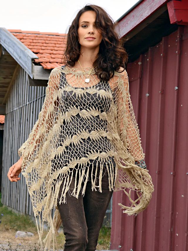 Haak Maar Aan Gehaakte Zomer Poncho Crochet Breien Haken En