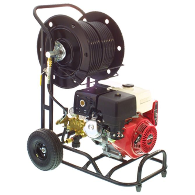 Water Jetting Machine Model Go 3000 Is Supplied With Two