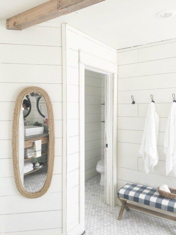 Farmhouse Master Bathroom Bathrooms Master Bathroom