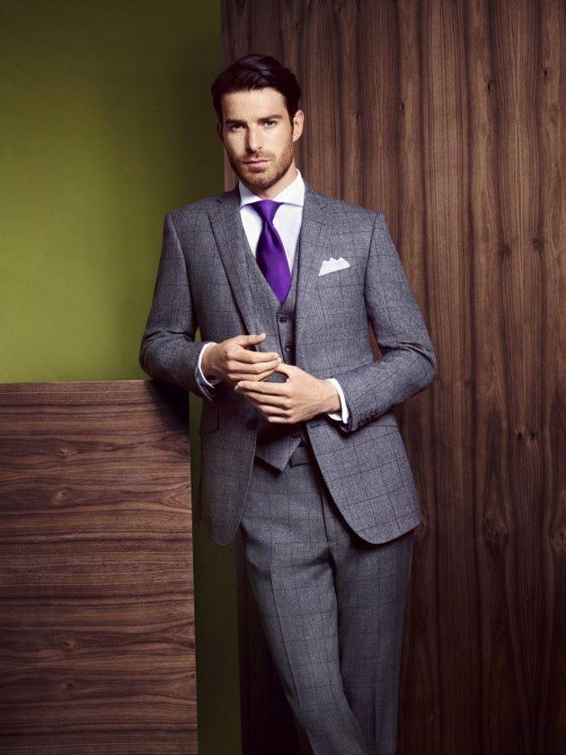 Winter Fashion Partywear Man Suit Check Men S Fashion