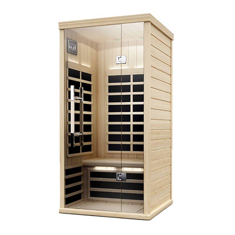 Finnleo farinfrared model s810 solo sauna sauna design