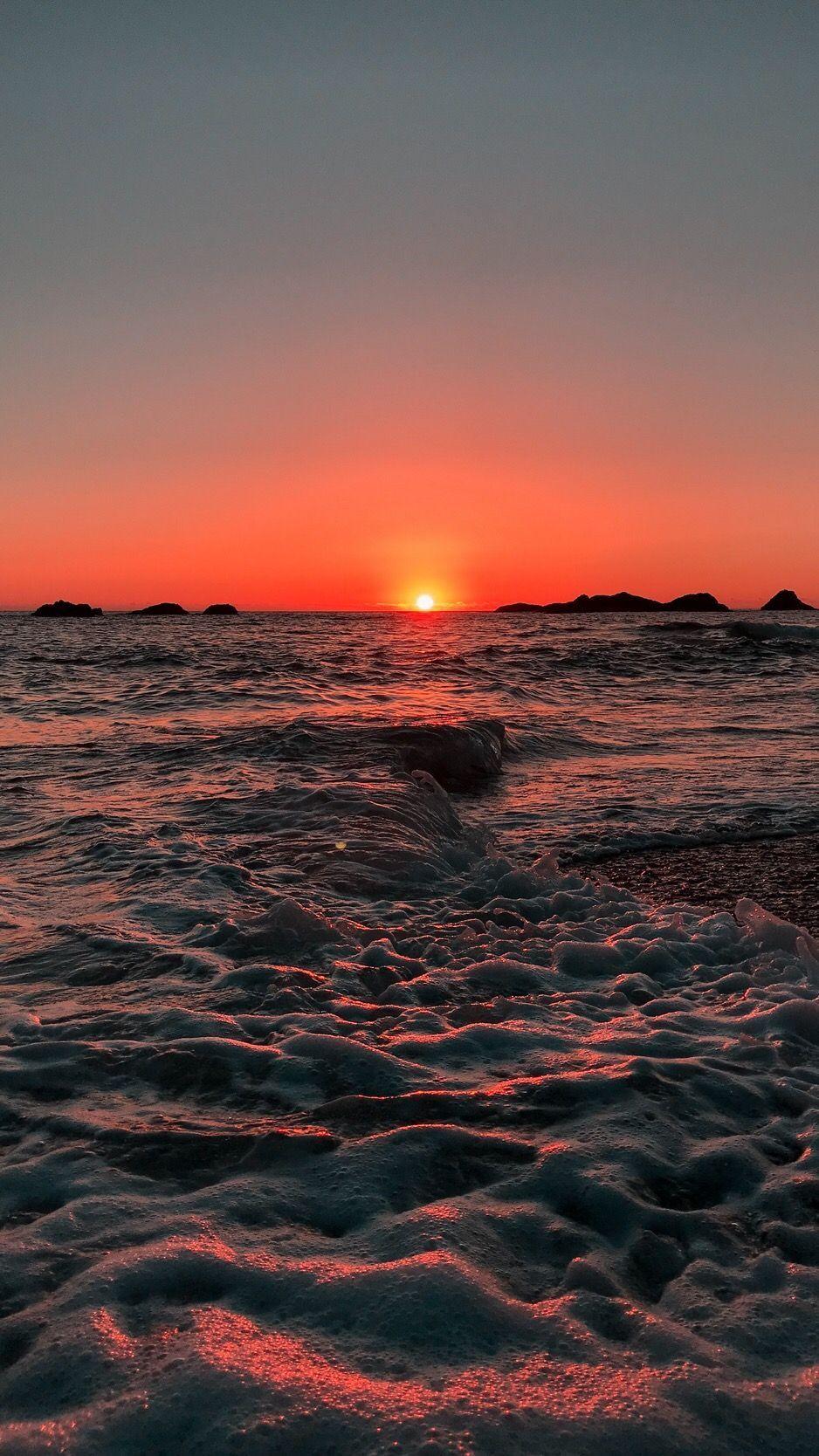 Lockscreen Aesthetic Iphone Wallpapers In 2020 Sunset Wallpaper Nature Wallpaper Beach Sunset