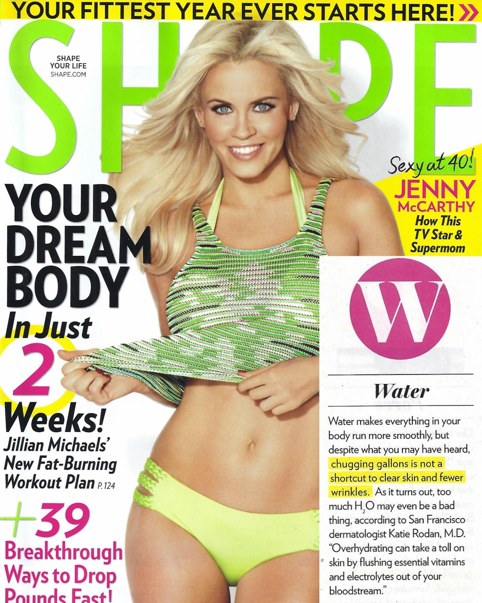 Alison Sweeney Shape Magazine Covers