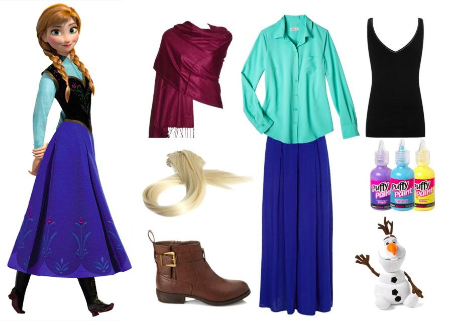 Halloween Costumes Easy Elsa 2020 Easy Anna from Frozen Halloween/Cosplay Costume. Get the look and