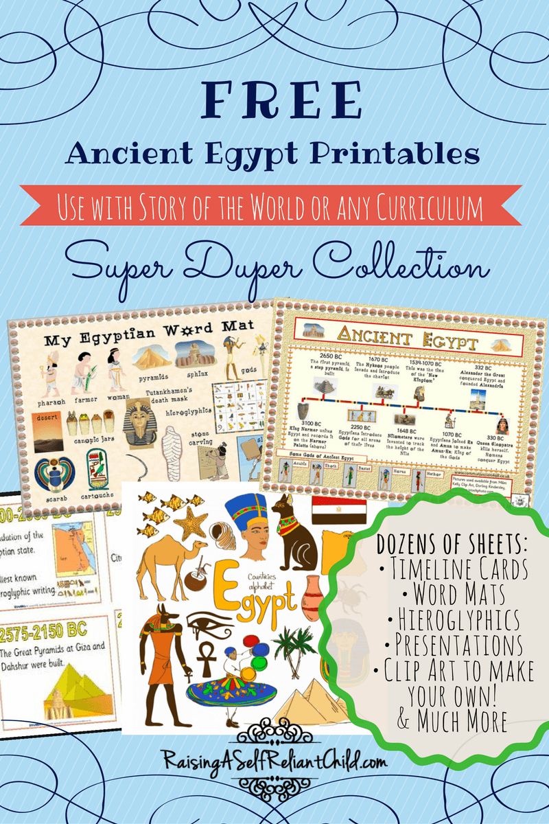 Free Printables Ancient Egypt Homeschool Resources   Ancient egypt lessons [ 1200 x 800 Pixel ]