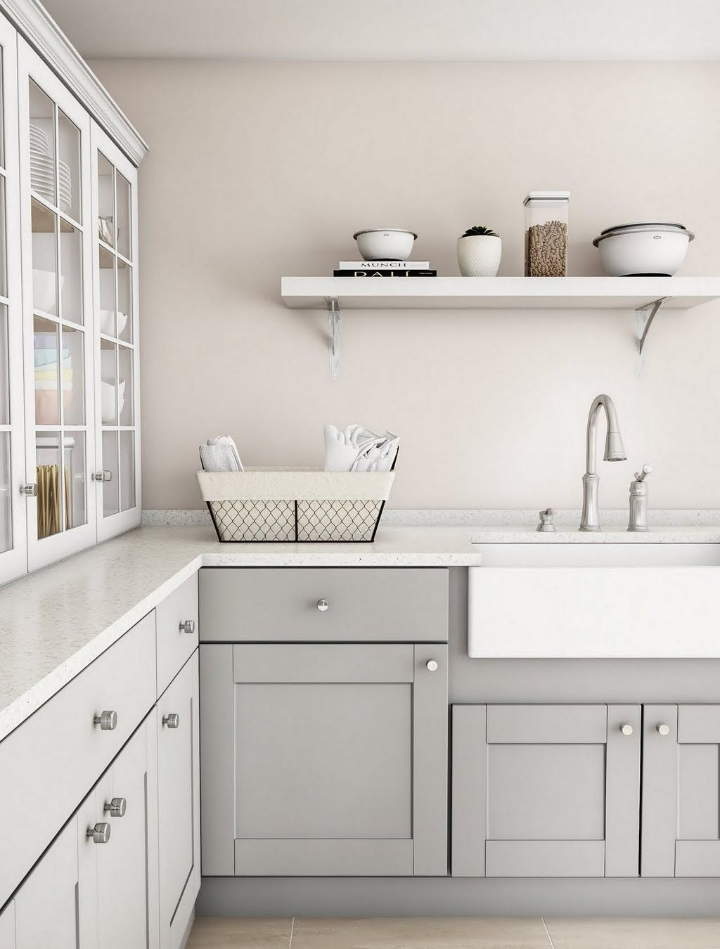 Shop Our Laundry Room Department To Customize Your Elegant Gray