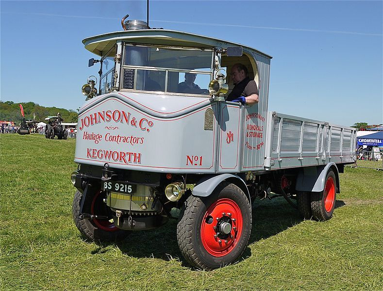 Sentinel Steam Lorry With Images Lorry Vintage Trucks Steam