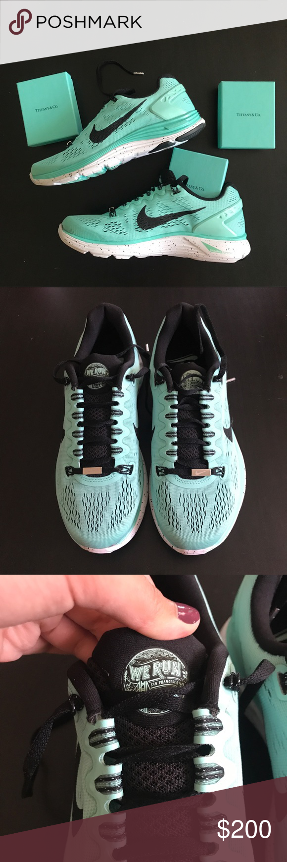 98549ab122d0 🌟Rare NWT Nike NWM Lunarglide 5 Tiffany Blue ✨RARE brand new Nike  Lunarglide 5 from the 2013 Nike Women s Marathon. These shoes were sold for  1 day only ...