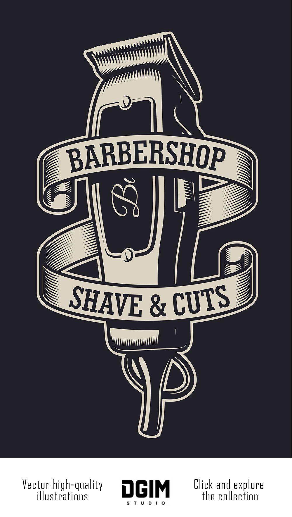 Barbershop Bundle Barber Shop Sign Barber Shop Barber Shop Decor