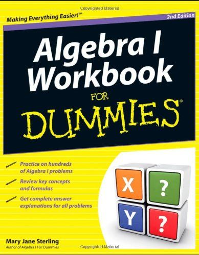 Algebra i workbook for dummies products i love pinterest algebra algebra fandeluxe Image collections