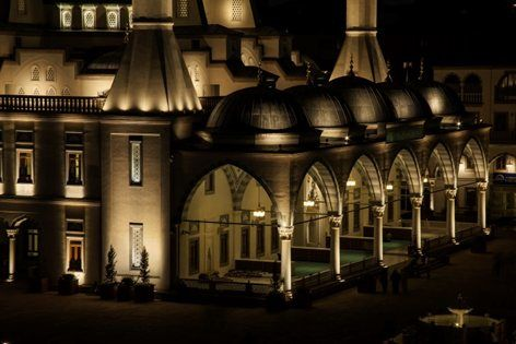 Kirikkale nur mosque kırıkkale 2015 zeve lighting design studio