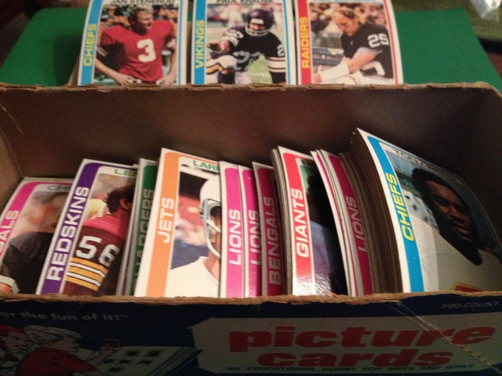 1978 topps football cards lot of 150 including some stars