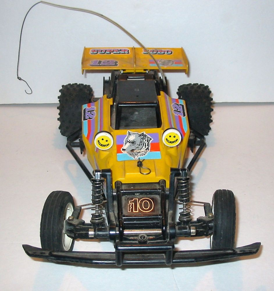 Vtg Sears 27 Mhz R C Super Lobo 4x4 Off Road Buggy For Parts Or Restore Hobby Rc Cars Off Road Buggy Rc Cars