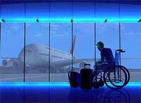 Tips for wheelchair travelers on international flights