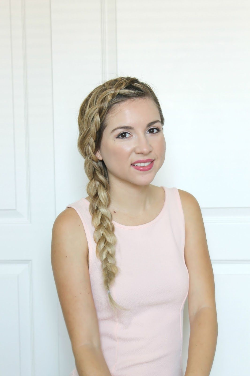 Side Braid With Extensions Tutorial