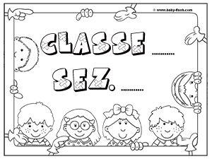 Cartello porta1 accoglienza aula scuola le idee for Cartelli per la porta dell aula da stampare