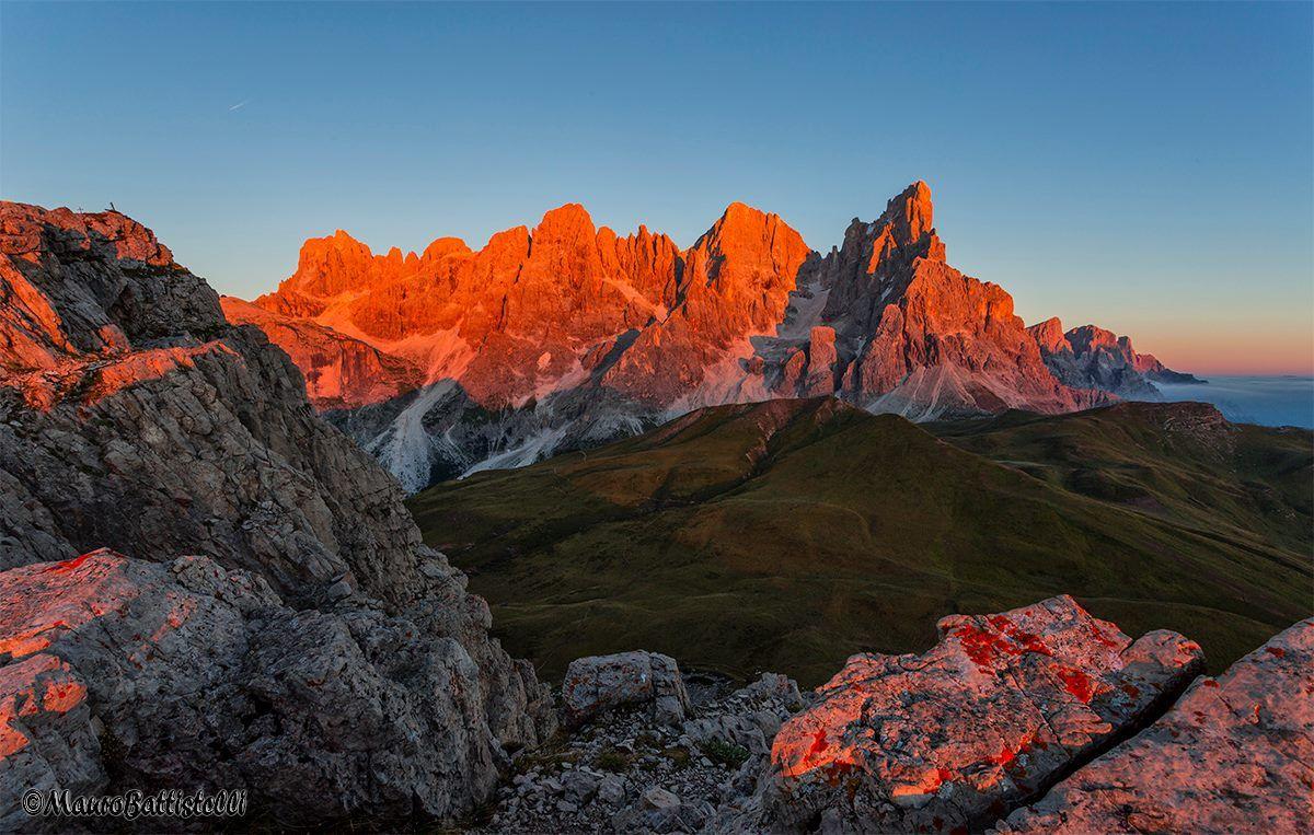 396  Pale di San Martino, San Martino di Castrozza, Parco naturale di Paneveggio, Trentino ( foto di Mauro Battistelli )